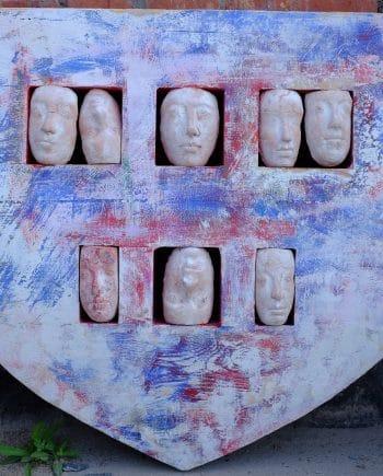 Boatshape with heads