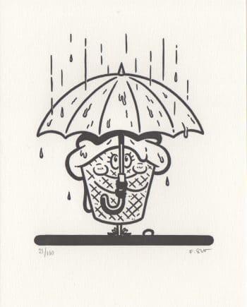 Ice Cream I Umbrella Lady