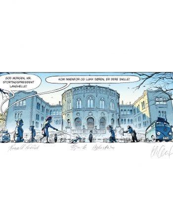 Stortinget, Eidsvolds Plass