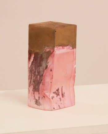 Pink and Gold Object