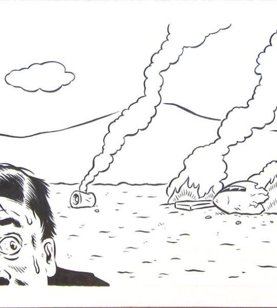 Plane Crash (for Morgenbladet #47)
