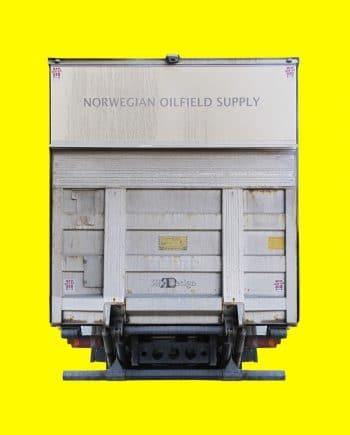 Oil truck yellow