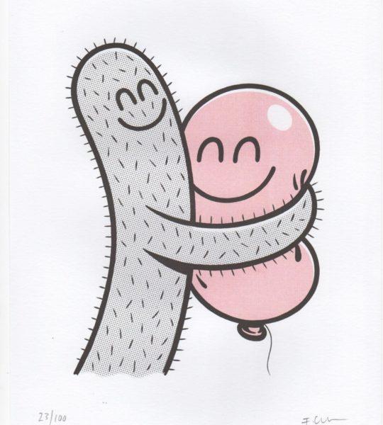 Klem (Hug, pale pink version)