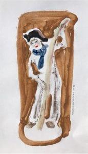 Boy with Ski