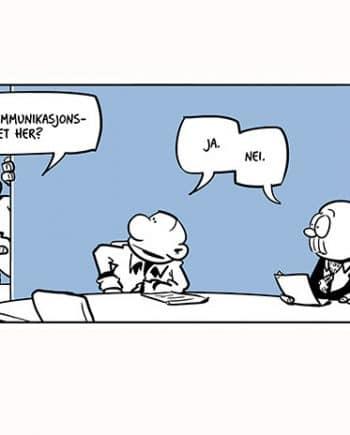 Internkommunikasjon (Intern Communication). Blue