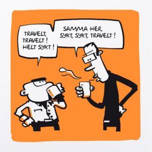 Sykt travelt (Buisy) Orange