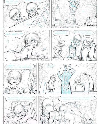 Spøkelseståken (Ghost fog) page 62