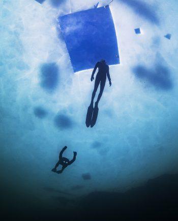 Icediving Lutvann, Hard Water #I