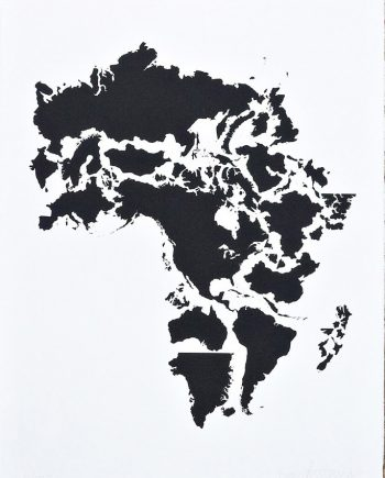 Africa. Black on White